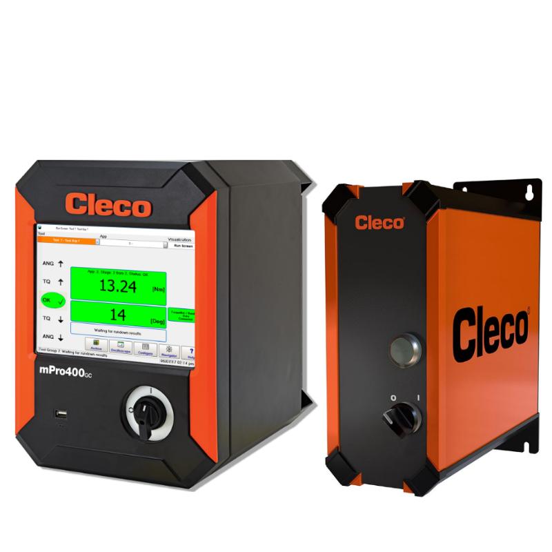Cleco mPro -ohjausyksiköt